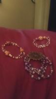 bracelets i made